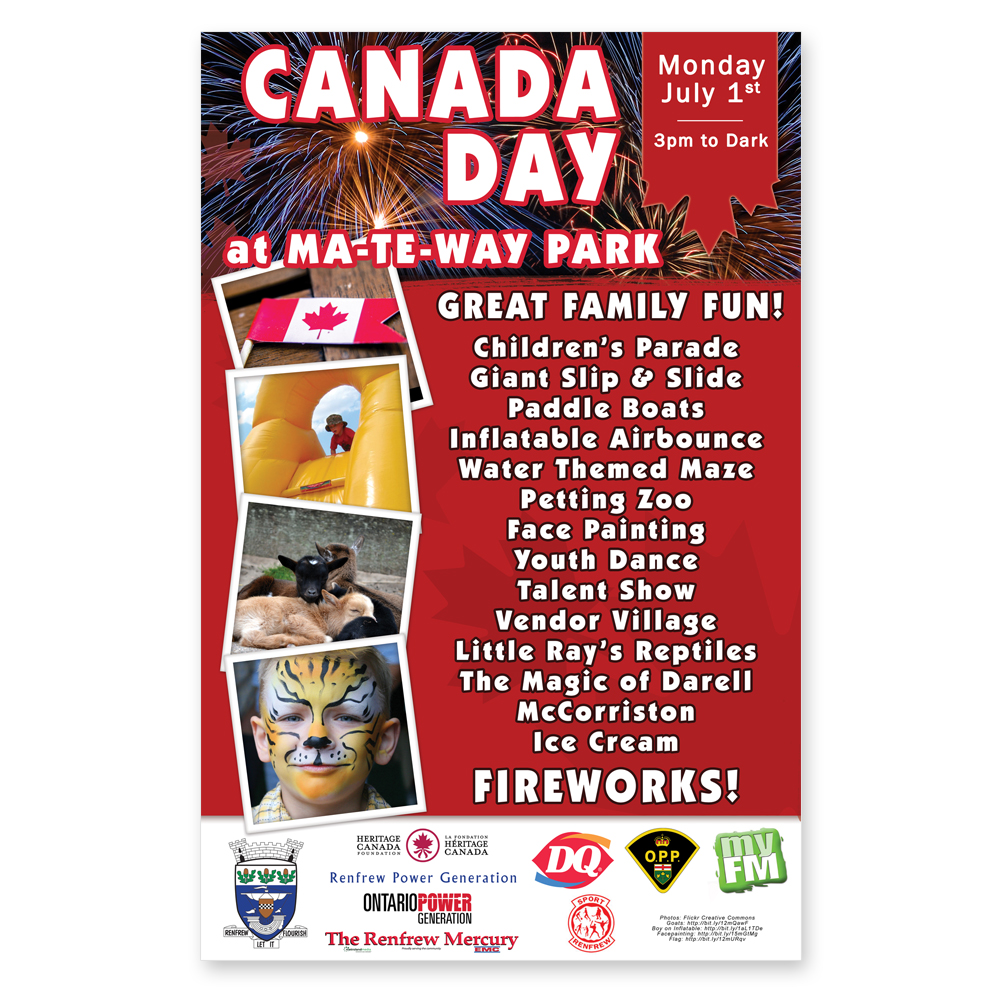 Canada Day Poster Image